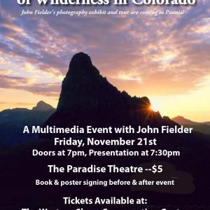 John Fielder Wilderness Celebration