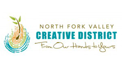 Logo for the North Fork Valley Creative Coalition