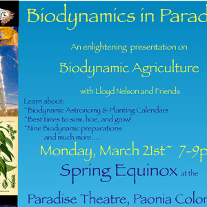Biodynamics in Paradise