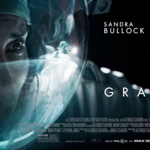 """Gravity"", Starring Sandra Bullock and George Clooney"