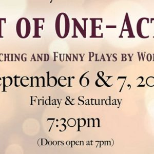 A Night Of One Act Plays