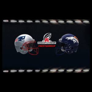 Patriots vs Broncos Playoff Game