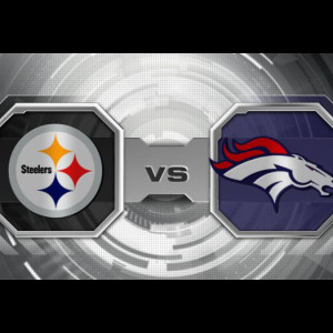 Steelers vs Broncos Playoff Game